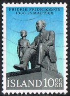 Iceland SG452 1968 Birth Centenary Of Pastor Fridrik Fridriksson 10k Good/fine Used [10/26119/6D] - 1944-... Republik