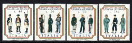 ITALIEN 1974 ** Uniformen Der Finanzpolizei - Kompletter Satz MNH - Polizei - Gendarmerie