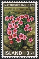 Iceland SG478 1970 Nature Conservation Year 3k Good/fine Used [10/26120/6D] - Used Stamps