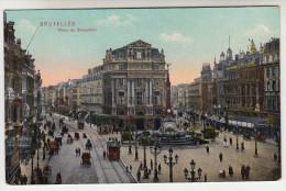 Brussel, Bruxelles, Place De Brouckère, Tram, Tramways (pk23238) - Places, Squares