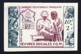 AEF 1950: N° 231nd ** Non Dentelé (YT227a) - TB - A.E.F. (1936-1958)