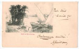 CPA PORT SAID (Egypte): Bord Du Nil à Boulag - Port Said