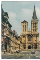 CP- 14 - Lisieux  2 CV Citroen Place Thiers La Cathédrale  Dos Oblit 1989 - Lisieux