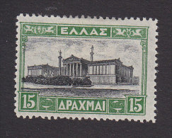 Greece, Scott #333, Mint Hinged, Academy Of Sciences, Issued 1927 - Greece
