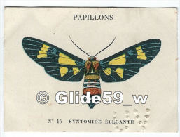 Image Chocolat CASINO - Série Papillons - N° 15 - Syntomide Elégante - Autres