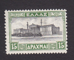 Greece, Scott #370, Mint No Gum, Academy Of Sciences, Issued 1930 - Greece