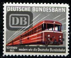 Werbemarke  Der Deutschen Bundesbahn  SCHIENENBUS ** / MNH - Treni