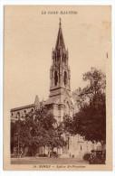 NIMES--Eglise Saint Perpétue (petite Animation,voiture) N°36 éd APA-POUX  Série Gard Illustré--pas Très Courante - Nîmes