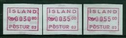 Iceland Label Device 03 1993 - Vignettes D'affranchissement (Frama)