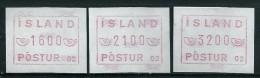 Iceland Label Device 02 FRAMA - Vignettes D'affranchissement (Frama)