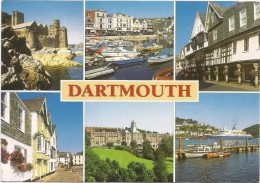 L3100 Dartmouth - Multiviews - Barche Boats Bateaux / Viaggiata - Inghilterra