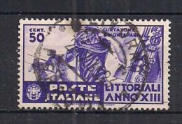 REGNO D'ITALIA   1935   LITTORIALI DELLA CULTURA E DELL'ARTE   SASS. 379   USATO   VF - 1900-44 Victor Emmanuel III