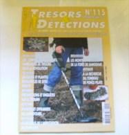 Tresors  Detection  N 115   2010 - Livres, BD, Revues