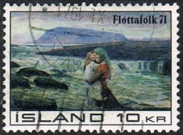 Iceland SG481 1971 Help For Refugees 10k Good/fine Used - Used Stamps