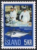 Iceland SG488 1971 Icelandic Fishing Industry 5k Good/fine Used [10/26130/6D] - Used Stamps