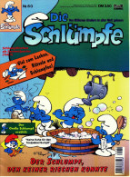 Comics  Die Schlümpfe : Der Schlumpf Den Keiner Riechen Konnte  , Nr. 60  Bastei Verlag - Bücher, Zeitschriften, Comics