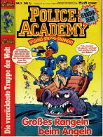 Comics  Police Academy  , Nr. 3  -  Großes Rangeln Beim Angeln  -  Bastei Verlag Ca. 1992 - Books, Magazines, Comics
