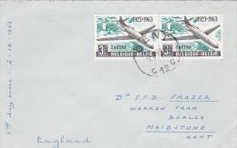 Belgium 1963 Sabena 40th Anniversary FDC - FDC