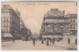 Brussel, Bruxelles, Place De La Bourse (pk23241) - Places, Squares
