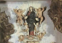 CHIESA DI PESCARENICO ALTARE DELLA MADONNA ASSUNZIONE - Vergine Maria E Madonne