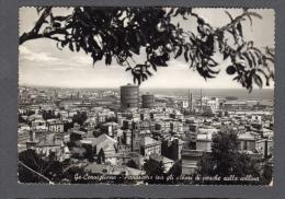 1954 GENOVA CORNIGLIANO PANORAMA DALLA COLLINA FG V SEE 2 SCANS CIMINIERE IMPIANTI INDUSTRIALI - Genova