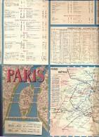 Brochure Toerisme Tourisme Paris - Reizen Elite Gent - Dépliants Touristiques