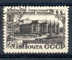 RUSSIE U.R.S.S. U.S.S.R. RUSSLAND YVERT ET TELLIER NR. 1435 25e ANNIVERSAIRE DE LA REPUBLIQUE D'OUZBEKISTAN TACHKENT - Usati