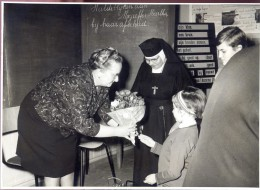 Foto Afscheid Juffrouw Martha - Fotograaf Oosterlinck  Gijzenzele - Non Classés