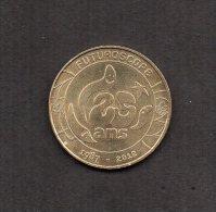 Medaille Touristique. Monnaie De Paris : FUTUROSCOPE -25 ANS- .2012. - Monnaie De Paris