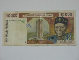 10 000 Dix Mille Francs  - SENEGAL - Banque Centrale Des états De L´Afrique De L´ouest **** EN ACHAT IMMEDIAT **** - Sénégal