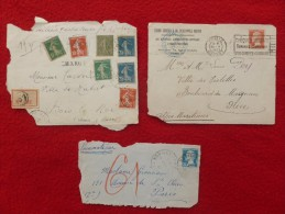 TIMBRES DEVANT DE LETTRES - Postmark Collection (Covers)