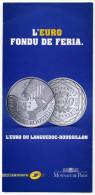 Dépliant 3 Volets - Euro Du Languedoc 2010 - Monnaies & Billets
