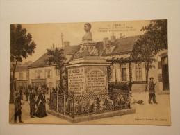 Carte Postale - CERILLY (03) - Monument De François Péron  (362/1000) - Autres Communes