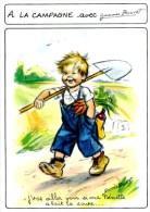 Illustration Germaine Bouret. Enfant. A La Campagne.  D 218 - Non Classificati