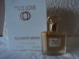 """ELIZABETH ARDEN """"  TRUE LOVE""""  MINI  PARFUM 3,7 ML  LIRE ET VOIR!! - Miniatures Femmes (avec Boite)"""