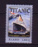 2012 aland neuf ** n� 356 transport : bateau : paquebot le titanic