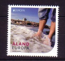 2012 aland neuf ** n� 358 europa : tourisme : plage