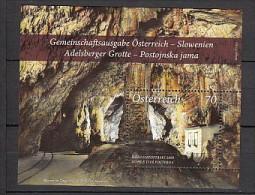 2013 autriche neuf ** n� F 2887 paysage : grotte de postojna