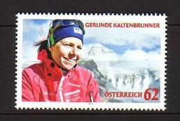 2012 autriche neuf ** n� 2847 sport : alpinisme : gerlinde kaltenbrunner