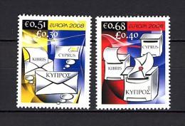 2008 chypre neuf ** n� 1139/40 europa : boite � lettre