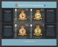2013 gibraltar neuf ** n� 1530/33 militaire : armoirie d'escadron