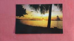 Guam Sunset  ------------------- Ref 1957 - Guam