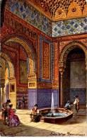 SPAIN - GRANADA - ALHAMBRA - SALE DI LOS ABENVERRAJES - ART - PERLBERG - Granada