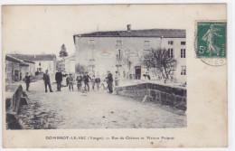 Dombrot-le-Sec - Rue Du Château Et Maison Poinsot - Non Classés