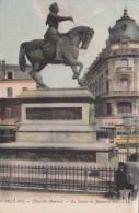Cp , 45 , ORLÉANS , Place Du Martroi , La Statue De Jeanne D'Arc - Orleans
