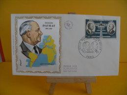 FDC - Didier Daurat 1891/1969 - Paris - 17.4.1971 - 1er Jour - Coté 15 € Poste Aérienne - 1970-1979