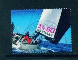 DENMARK  -  2014  North Sea Sailing  14kr  Used As Scan - Usado