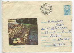 Sovata Health Resort  - Lake Ursu - Stationery (stamp : Romanian Coat Of Arms) - Holidays & Tourism