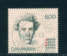 DENMARK  -  2013  Soren Aabye Kierkegaard  8kr  Used As Scan - Denmark