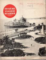 REVUE DES USAGERS DE LA ROUTE -  1933  N° 182  NICE - Livres, BD, Revues